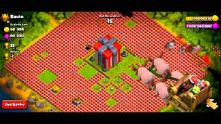 clash of clans santa's surprise spell attacks 2018..HD