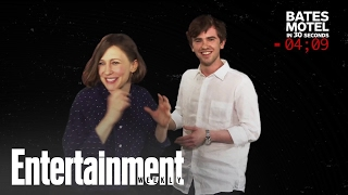 "Freddie Highmore explains ""Bates Motel"" in 30 seconds"