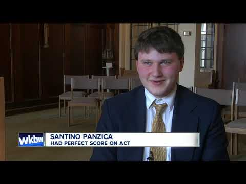 Canisius High School student scores perfectly on ACT
