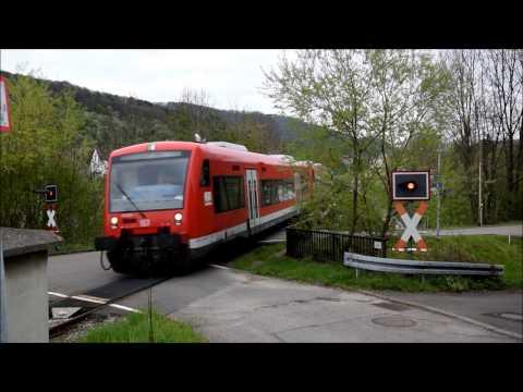 """Bahnübergang Brucken """"Kanalstraße"""""""