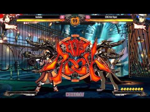 CEOtaku 2016 Guilty Gear Xrd Revelator Top 8 けだこ(kedako) vs Kid Viper |