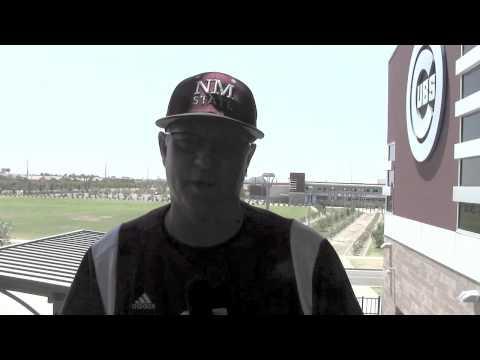 WAC Baseball Tournament - Game 3 - NM State Head Coach Rocky Ward