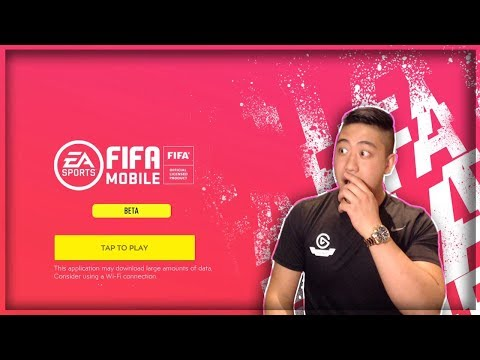 FIFA MOBILE 20 BETA GAMEPLAY FIRST LOOKS!! (Apple IOS)