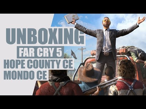 FAR CRY 5:  Unboxing Hope County Collector's Edition & Mondo CE [UNBOXING]