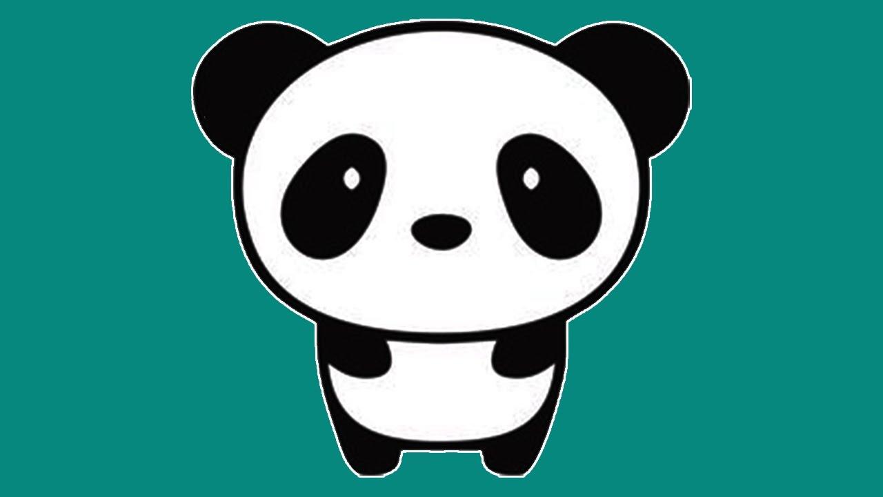 Aprenda A Fazer Um Panda Kawaii . Learn How To Make A