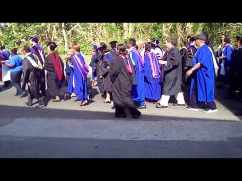 College OF The BAHAMAS Marched