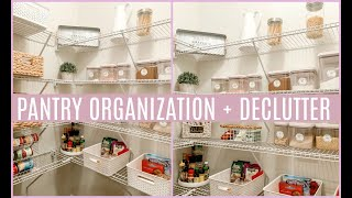 PANTRY ORGANIZATION! | HOW TO ORGANIZE YOUR PANTRY