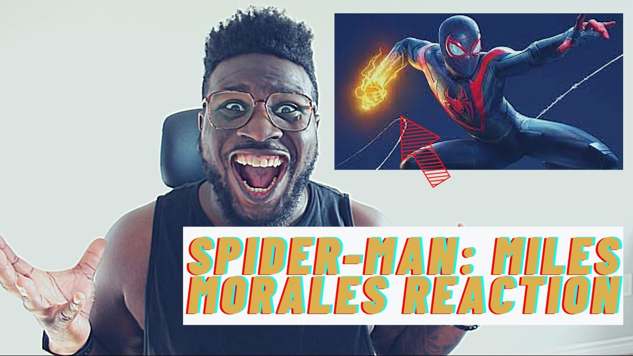 Spider-Man: Miles Morales - Launch Trailer Reaction