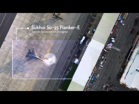 Exclusive 3D mapping of Paris Air Show by Parrot: senseFly drones & Pix4D