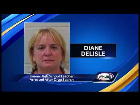 Keene teacher accused of falsifying physical evidence during drug investigation