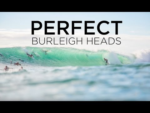 Surf Photography - Perfect Burleigh Heads - 18 March 2017