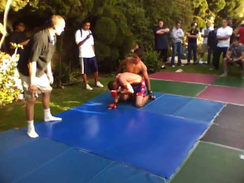 MMA Fight Night 3- 26-10 Andrew vs Cesar part 1