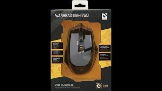Обзор игровой мыши Defender Warhead GM 1760