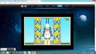 LEGO Space Rocket Game