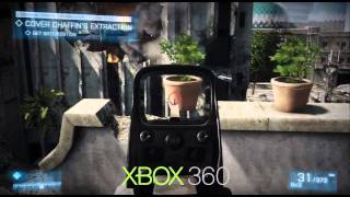 Battlefield 3 PC vs Xbox 360 vs PS3 Comparison
