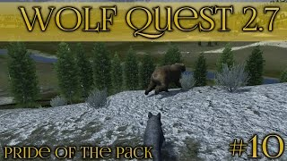 Trouble in the Storm!! 🐺 Wolf Quest 2.7 - Pride of the Pack 🐺 Episode #10