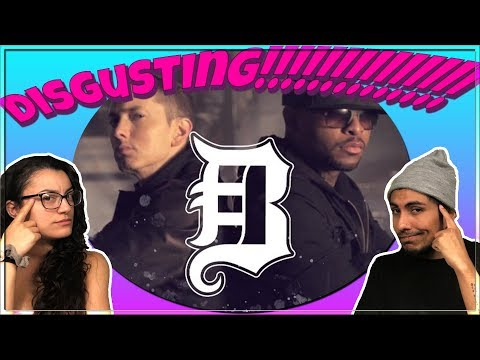 Bad Meets Evil - All I Think About (Lyrics) REACTION