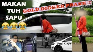 Video GOLD DIGGER PRANK | CEWEK MATRE DISAPU AJA !!! download MP3, MP4, WEBM, AVI, FLV Mei 2018