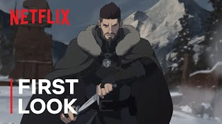 The Witcher: Nightmare of the Wolf | Vesemir First Look | Netflix