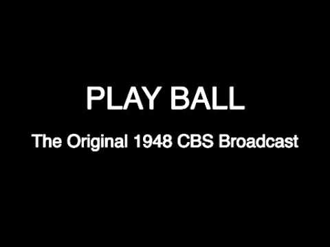 1948 Babe Ruth Play Ball CBS Documentary With Audio & Photos