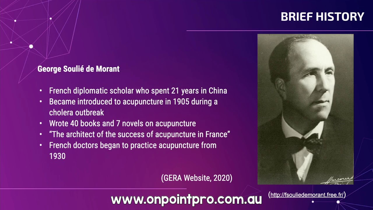 Acupuncture History - The Origins of Qi and the Meridians