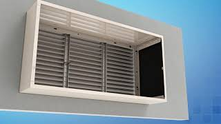 Reliable Architectural PTAC Louver Installation Video