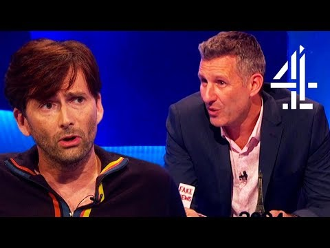 David Tennant Has a Stern Message For Donald Trump!  The Last Leg
