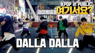 [여기서요?] 있지 ITZY - 달라달라 DALLA DALLA (Boys ver.) | 커버댄스 DANCE COVER | KPOP IN PUBLIC @동성로