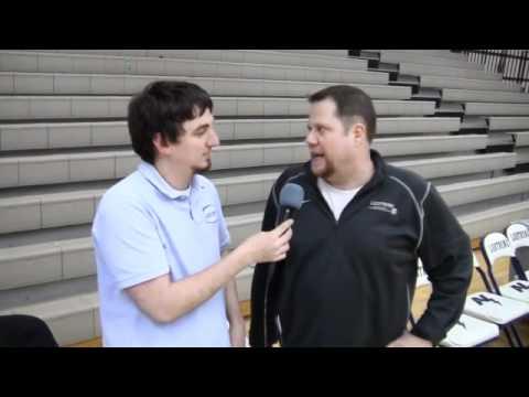 Appleton North Head Coach Eric Eastman 03-01-2011