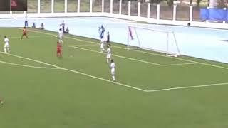Highlights adu serang football Indonesia Vs Laos dimenangkan Indonesia 4 - 0 dan Indonesia Lolos
