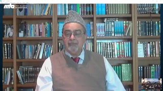 Amir Sb USA Dr Ahsan Ullah Zafar Address   Jalsa Salana USA 2015