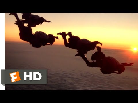 Navy SEALS (1990) - Halo Jumping Scene (6/11) | Movieclips