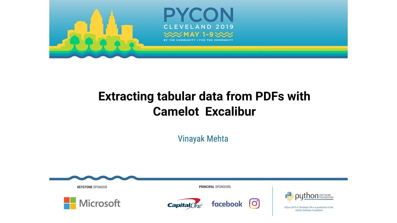 Image from Extracting tabular data from PDFs with Camelot & Excalibur