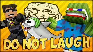 THE LAUGH EXPLOSIONS - Minecraft: DO NOT LAUGH Minigame w/ SkyDoesMinecraft, Bashurverse and Simon