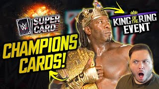 TITLE IMAGES RETURNING TO WWE SuperCard?! KING OF THE RING EVENT DETAILS! New Tier Release Date?