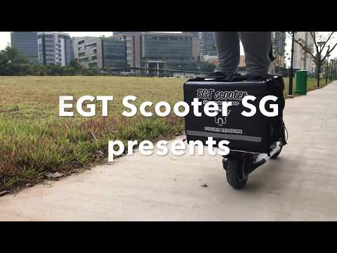 alternative ways of delivery food / parcel using electric scooter