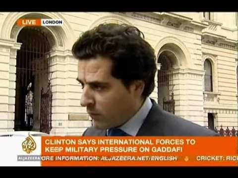 Al Jazeera English - Libya Interview - Intl London Conference and Arming Rebels