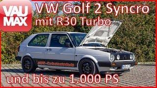 1000 PS im VW Golf 2 R30 Turbo 4Motion  - CarPorn by VAU-MAX.tv