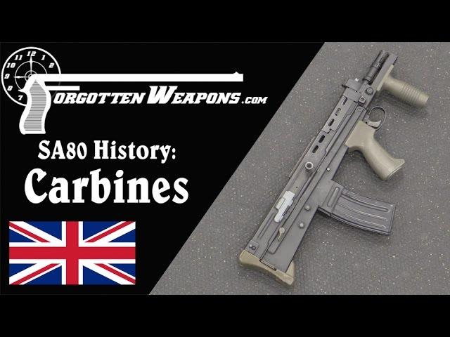 SA80 History: L22A2 and Experimental L85 Carbines