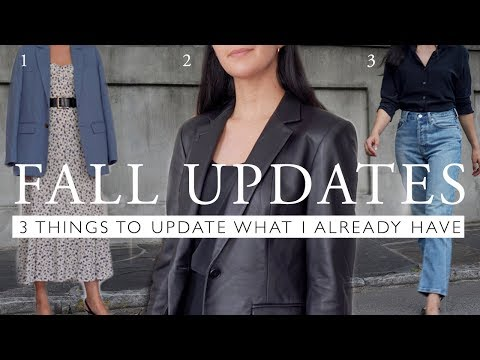 3 New Things To Update My Old Clothes | Vintage & Trendy Fall Updates