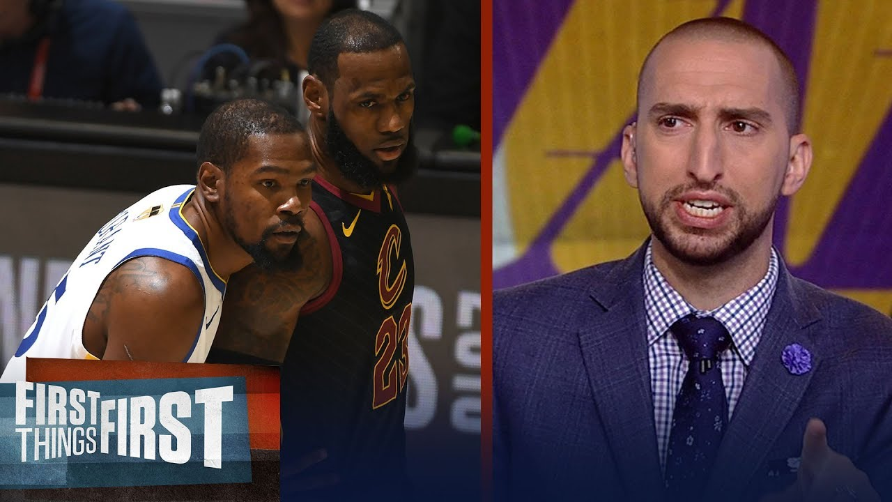 856a6992b49 Nick Wright on LeBron and KD in LA