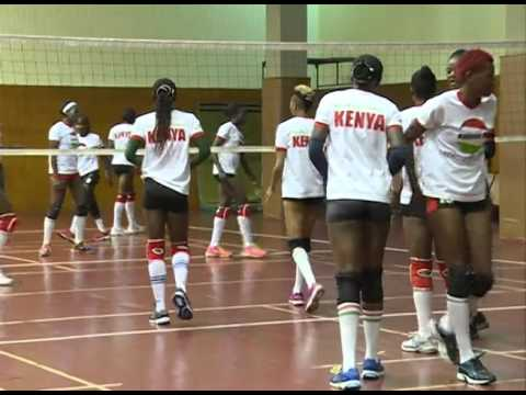 Volleyball team departs for Olympic qualifiers in Yaounde