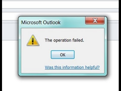 Download Outlook Failed - Fix Outlook Failed to Start Correctly Error