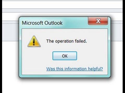 Outlook Failed - Fix Outlook Failed to Start Correctly Error