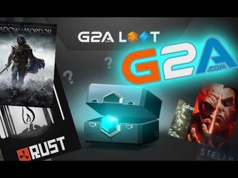 G2A LOOT - Deschid Cutii de 100 EURO