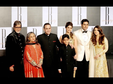 Amitabh Bachchan Family Photos || Father, Mother, Brother, Wife, Son, Daughter & Granddaughter!!!
