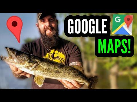 Google Maps Fishing Challenge! - Montreal Fishing