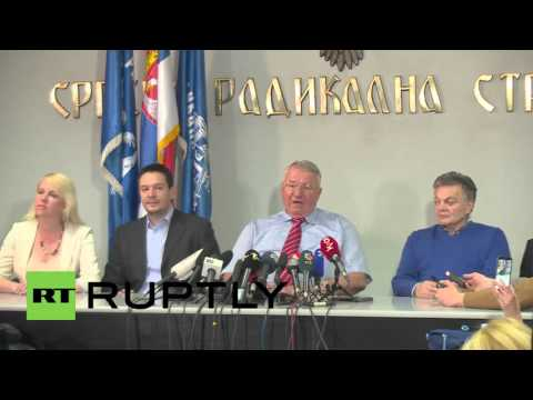 Serbia: Serbian Radical Party leader disappointed with election results