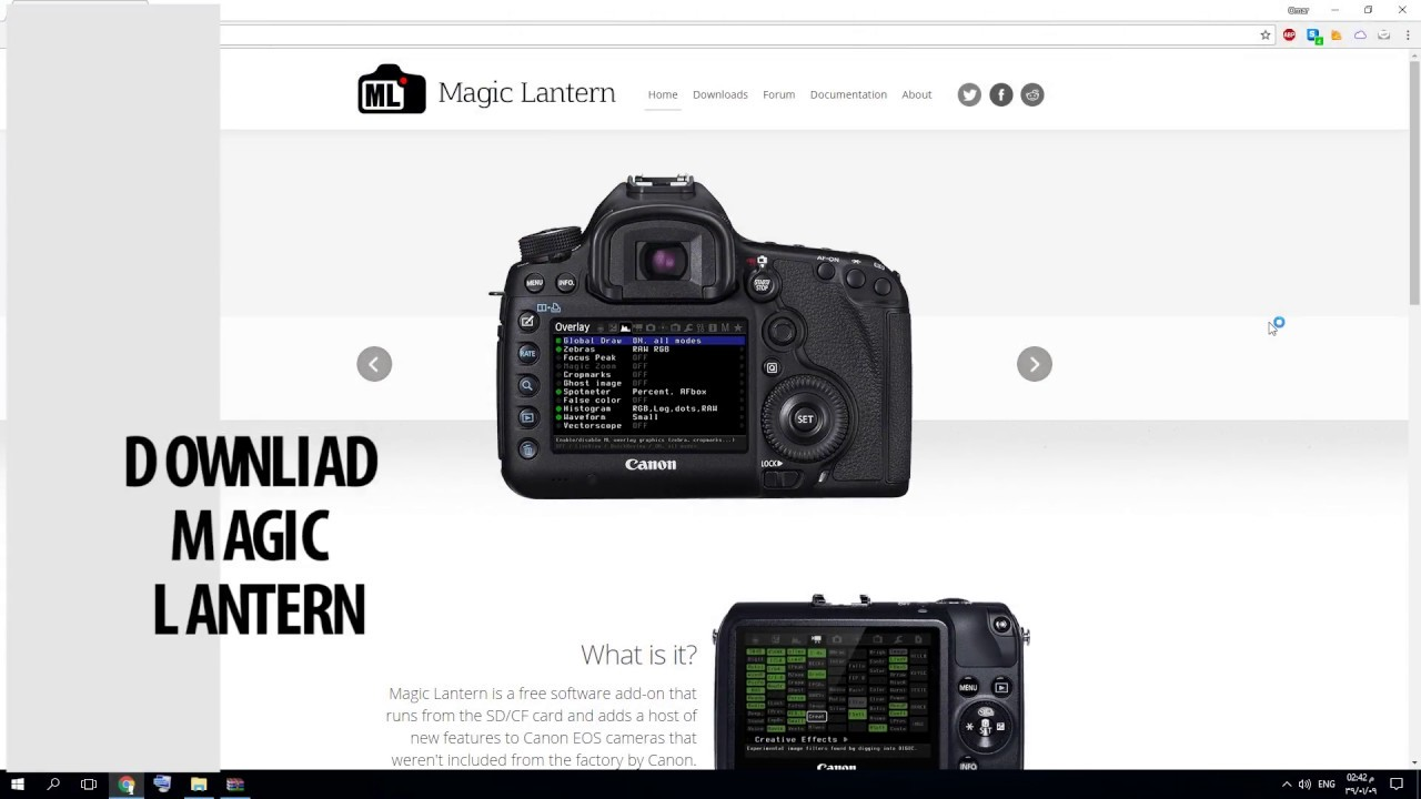 magic lantern install canon 550d rebel t2i youtube rh youtube com Magic Lantern Guides Pentax Magic Lantern Guides Nikon D7100