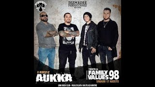 Aukka en el Family Values 98 - Show Tributo YouTube Videos